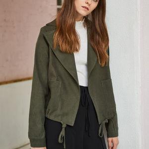 Jackets & Blazers - Olive Jacket